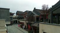 俯拍时光贵州古镇