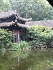 精美的江南园林古建筑