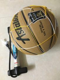 篮球 与 充气用具