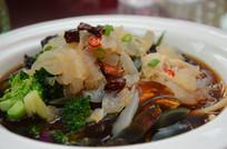 凉拌菜 海蜇皮蛋