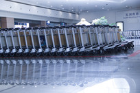 浦东机场推车