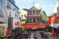 阳朔县西街古城塔楼建筑图片