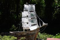 一帆风顺装饰船