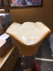 被吃过的冰淇淋