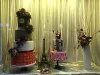 蛋糕店橱窗