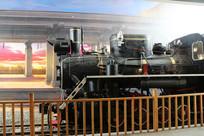 博物馆民国火车