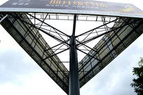 高杆广告内部结构