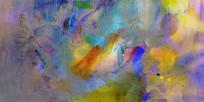 流彩抽象画
