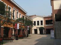 欧式建筑小院