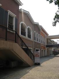 欧式建筑与楼梯