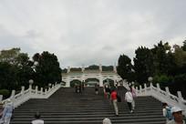 台北故宫博物院的台阶