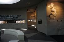 台北国民党党史馆展厅一角