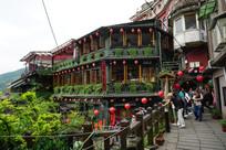 台湾九份山城阿妹茶楼