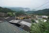 台湾九份山城小城风貌