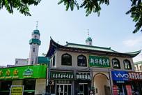 银川著名的新华清真寺