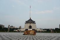 中正纪念堂与狗