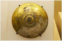 高句丽鎏金铜器盖