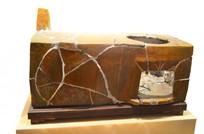 高句丽时代黄釉陶灶