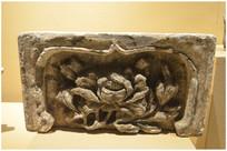 高句丽时期莲花纹瓦饰物
