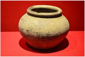 辽金时期灰陶罐