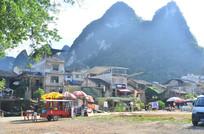 美丽的村庄风景