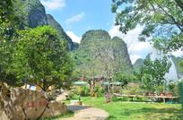 美丽的花仙谷风景图片