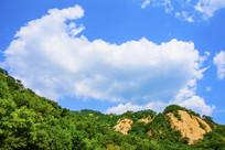 千山云潭山峰山林与白云