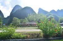 高山花园风景图片