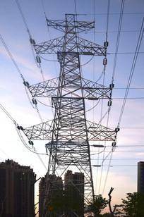 高压电线铁塔