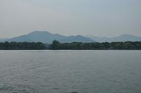 杭州西湖的湖面