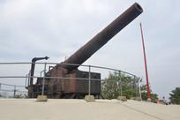 旗顶山炮台火炮