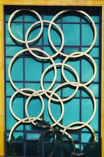 圆形图案建筑图