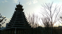 侗族标志性建筑鼓楼