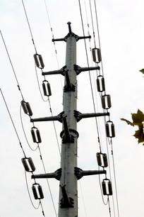 高压线输电设施