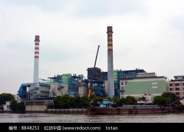 广州荔湾发电厂图片