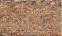 古代红色砖墙纹路
