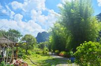 美丽的乡村自然风景