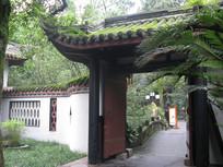 幽静的古建筑小院