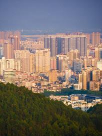 惠城区建筑鸟瞰风光