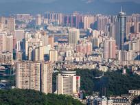 惠州城市建筑景色