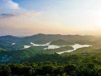 惠州红花湖鸟瞰风光