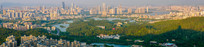 惠州市区城市风光全景图