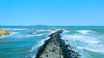 蓬莱阁海景