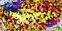 色块抽象艺术画