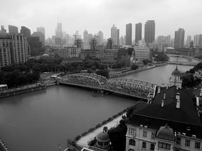 外白渡桥俯拍