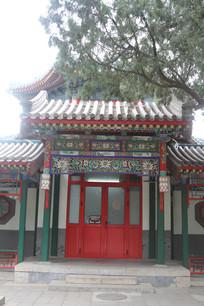 传统中式大门背景