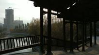 侗族风雨桥走廊
