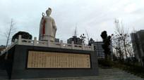 侗族萨玛天岁雕像