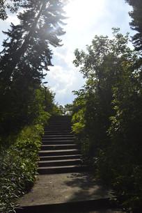 广州雕塑公园石阶路