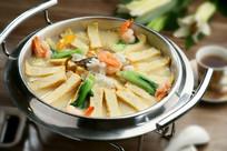 海鲜豆腐锅仔